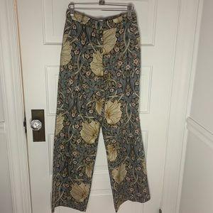 H&M floral dress pants